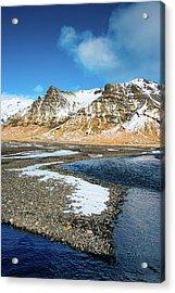 Landscape Sudurland South Iceland Acrylic Print by Matthias Hauser