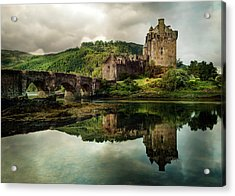 Landscape With An Old Castle Acrylic Print