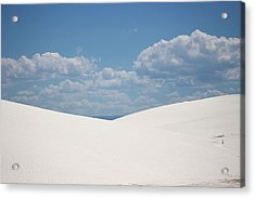 Landscapes Of White Sands 11 Acrylic Print
