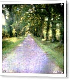Lane 2 Acrylic Print