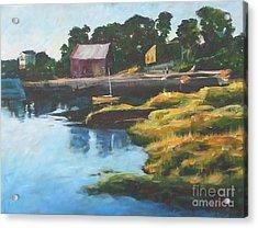 Lane's Cove Sunset Acrylic Print