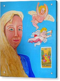 L'ange Acrylic Print