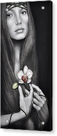 Language Of The Heart Acrylic Print by Pat Erickson