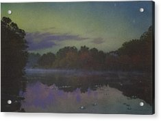 Langwater At Twilight Acrylic Print
