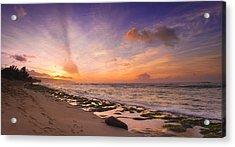 Laniakea Sunset Acrylic Print