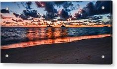 Lanikai Beach Acrylic Print