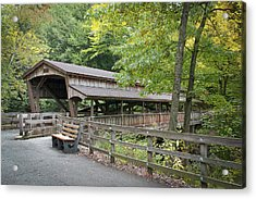 Lanterman's Mill Covered Bridge Acrylic Print