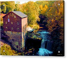 Lanterman's Mill Acrylic Print by Michelle Joseph-Long