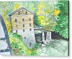 Lanterman's Mill - Mill Creek Park Acrylic Print