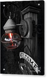 Lantern Acrylic Print by Brian Jones