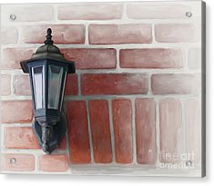 Acrylic Print featuring the painting Lantern by Ivana Westin
