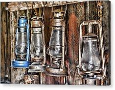 Lanterns Acrylic Print by Kelley King