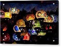 Lanterns - Night Light Acrylic Print