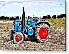Lanz Bulldog Tractor Acrylic Print