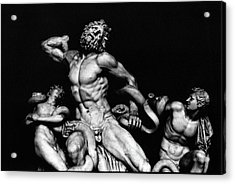 Laocoon And His Sons Aka Gruppo Del Laocoonte Acrylic Print by Michael Fiorella