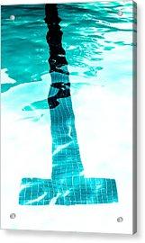Lap Lane - Swim Acrylic Print