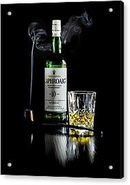 Whiskey And Smoke Acrylic Print