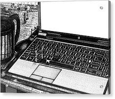 Laptop Acrylic Print