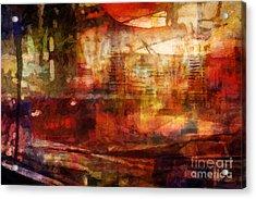 Large Abstract Acrylic Print