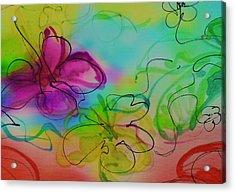 Large Flower 2 Acrylic Print