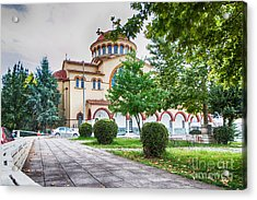 Larissa Old City Church Acrylic Print