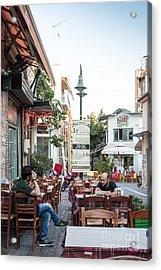 Larissa Old City Street View Acrylic Print