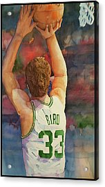 Larry Legend Acrylic Print by Fred Smith