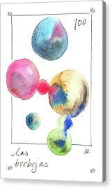 Las Burbujas Acrylic Print