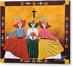 Las Catrinas Acrylic Print