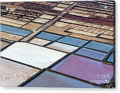 Acrylic Print featuring the photograph Las Salinas by Delphimages Photo Creations