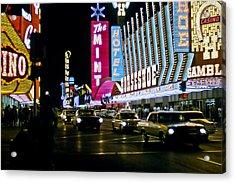 Las Vegas 1964  II Acrylic Print by Albert Seger