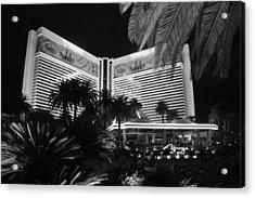 Acrylic Print featuring the photograph Las Vegas by Athala Carole Bruckner