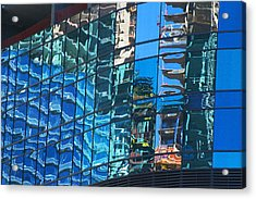 Las Vegas City Center Reflection Acrylic Print