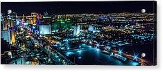 Las Vegas Looking North Acrylic Print