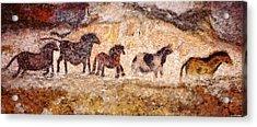 Lascaux Horses Acrylic Print