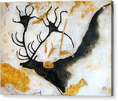Lascaux Megaceros Deer 2 Acrylic Print