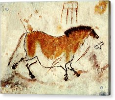 Lascaux Prehistoric Horse Acrylic Print