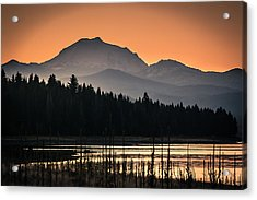 Lassen In Autumn Glory Acrylic Print by Jan Davies