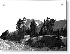 Acrylic Print featuring the photograph Lassen National Park by Lori Seaman