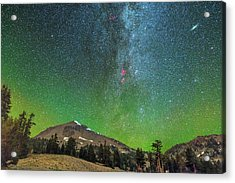 Lassen Nights Acrylic Print
