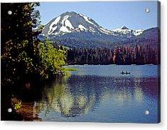 Lassen Reflections Acrylic Print by Rod Jones