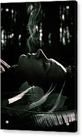 Last Breath Acrylic Print by Cambion Art
