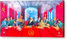 Last Communist Supper 20 - Da Acrylic Print