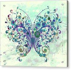 Last Dance Of A Butterfly Acrylic Print