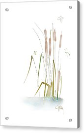 Acrylic Print featuring the mixed media Last Summerdance by Larry Talley