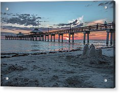 Last Day Of Summer Acrylic Print by Michael Frizzell