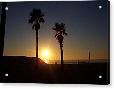 Last Gleaming Acrylic Print by Terry Groehler