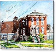 Last House Standing Acrylic Print