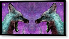 Last Laugh Acrylic Print by WB Johnston