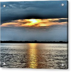 Acrylic Print featuring the photograph Last Light by Laura DAddona